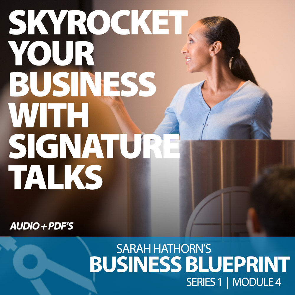 Skyrocket Your Business With Signature Talks