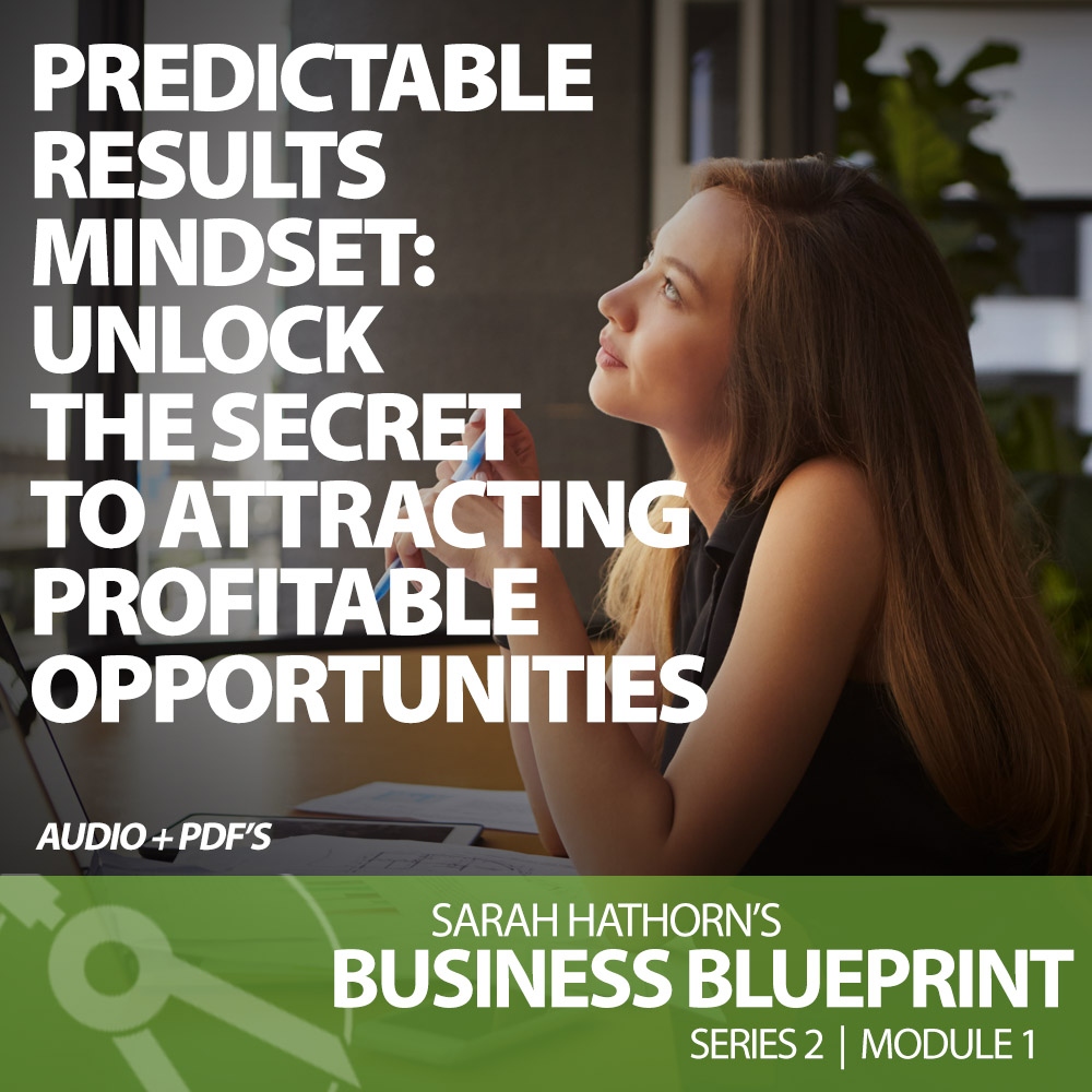 Predictable Results Mindest: Unlock The Secrets To Attracting Profitable Opportunities